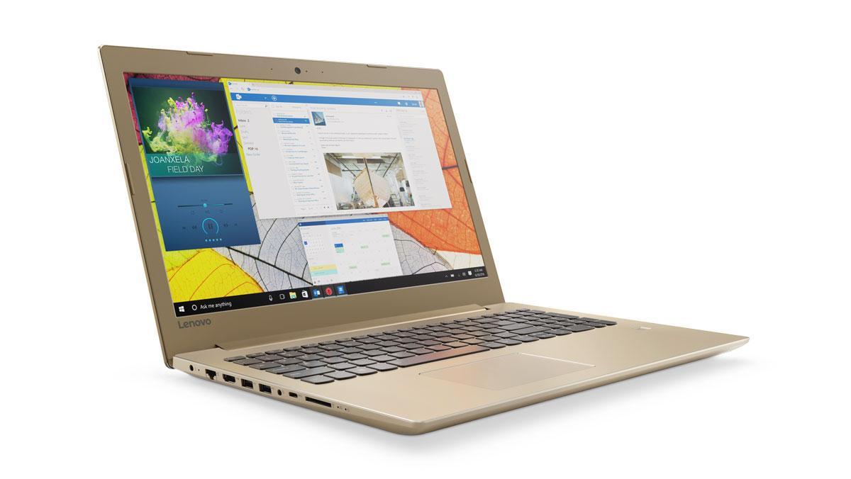 Фото1  Ноутбук Lenovo IdeaPad 520-15IKB GOLDEN (80YL00M3RA)