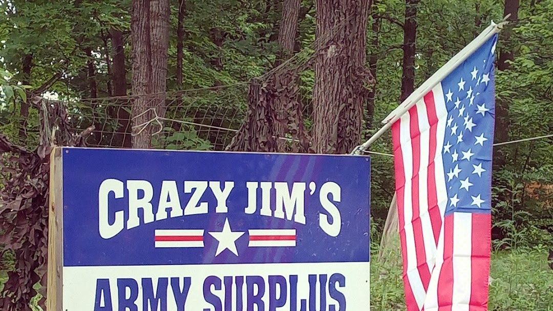 Crazy Jim's Army Surplus Online Store (Online only)  - Army