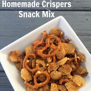 Homemade Crispers Snack Mix