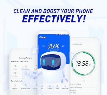 iClean – Booster, Super Virus Cleaner, Master 1