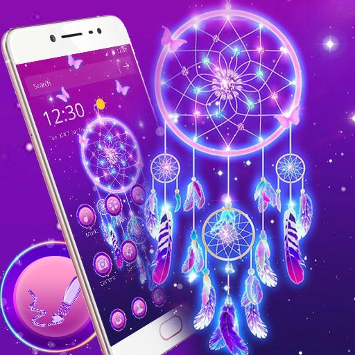 Purple Dream Catcher Theme Android APK Download Free By Fantastic Design