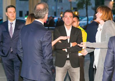"Xavi : ""J'espère entraîner le Barça"""