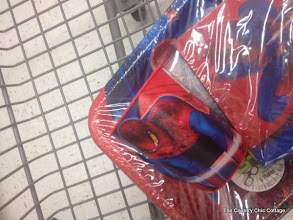 Photo: I also picked up a Spiderman cup in this section for my son.
