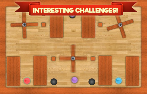 Teeter Pro 2 - labyrinth game - screenshot