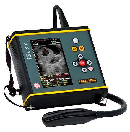 Draminski ultraljud iScan prestige rectal probe) 5.0' LCD