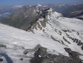 Photo: Il ghiacciaio del Rocciamelone
