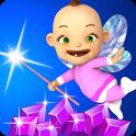Princess Baby Fairy: Magic Run icon