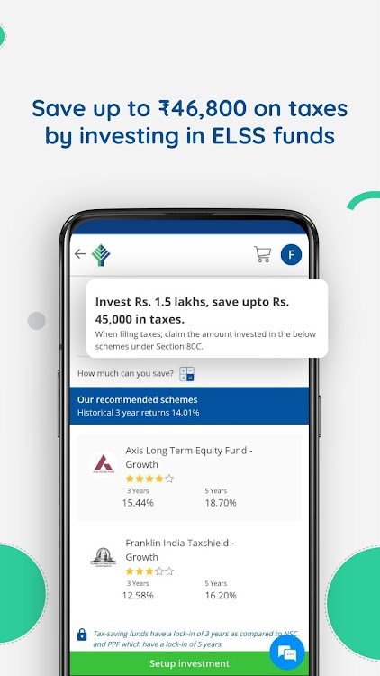 Mutual Fund Investment, SIP, Save Tax - FundsIndia – (Android Apps