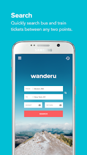 Wanderu Book Bus Train Tickets- screenshot thumbnail
