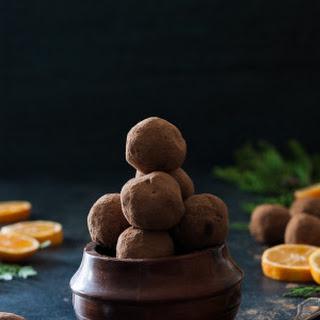 Fresh Orange & Dark Chocolate Truffles