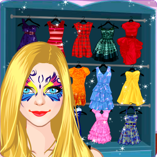 Princess Face Painting and Makeup Christmas Style (game)