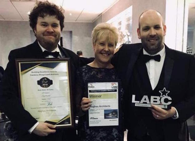 Hughes Architects wins award
