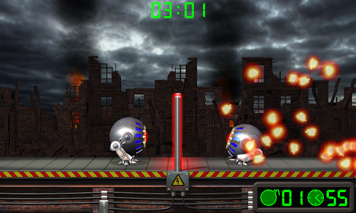 Extreme Volleyball. Battle Robots. android2mod screenshots 5