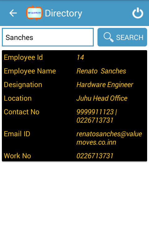 RENT AN HR PROCESS - HRMS- screenshot