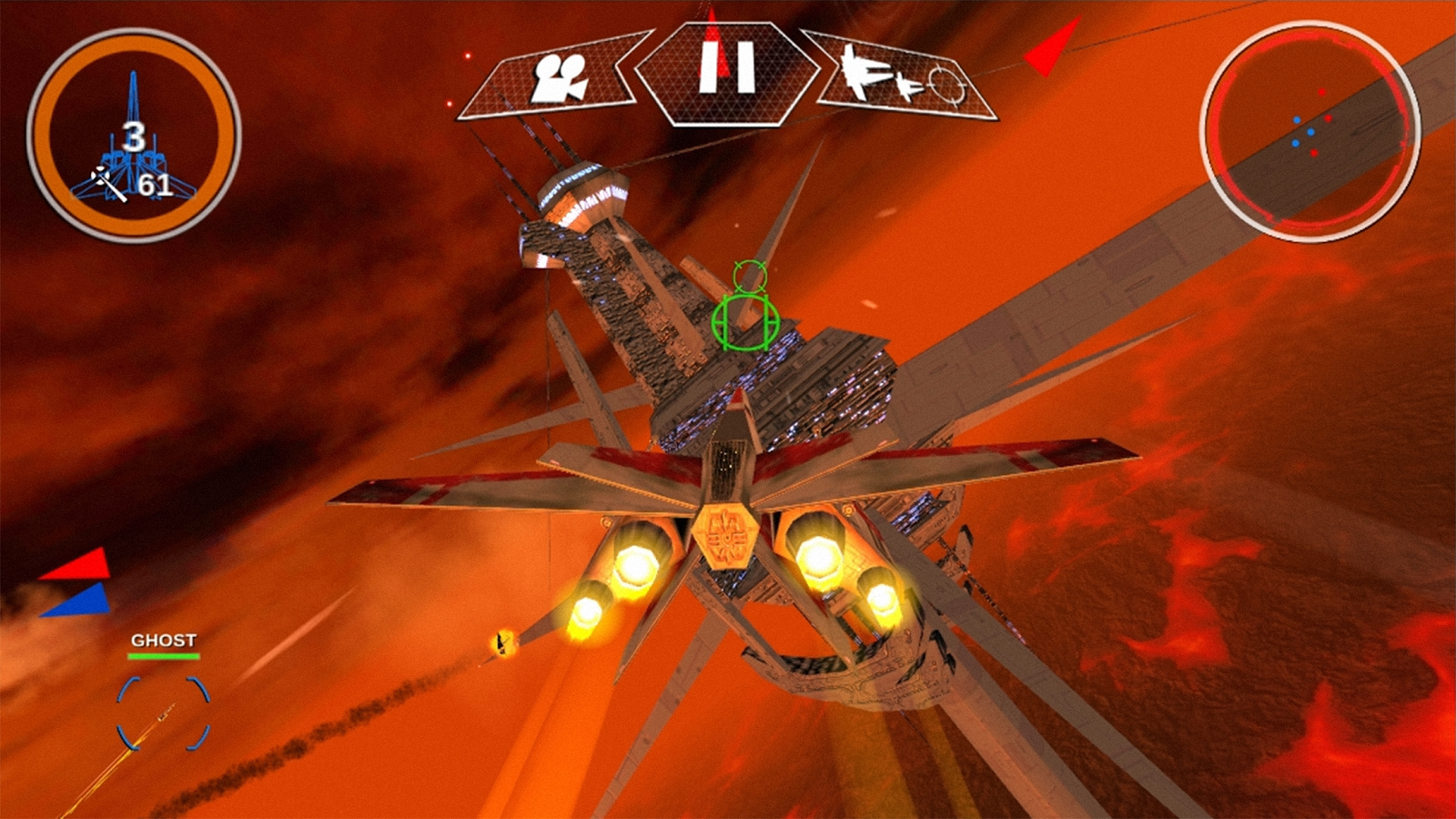 Alpha Squadron 2- screenshot