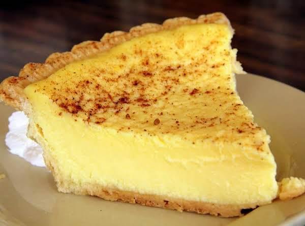 Old Fashioned Custard Pie Recipe