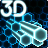Gyro Hex Particles 3D Live Wallpaper