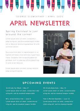April Newsletter - Newsletter item