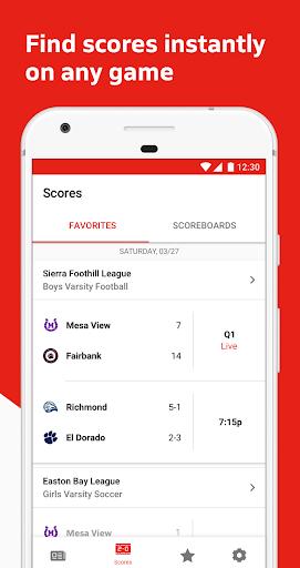 MaxPreps screenshot