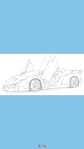 How To Draw Cars - HTDraw Cars 0.0.01 screenshots 4