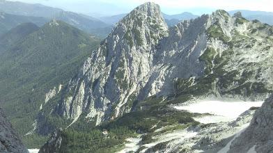 Photo: Pogled na zahodno steno Velike Babe, kjer poteka Nova centralna smer