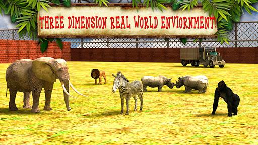 玩免費模擬APP|下載运输卡车动物园里的动物3D app不用錢|硬是要APP