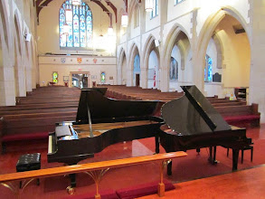 Photo: Two pianos