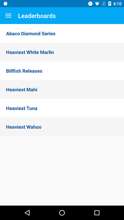 White Marlin Roundup- screenshot