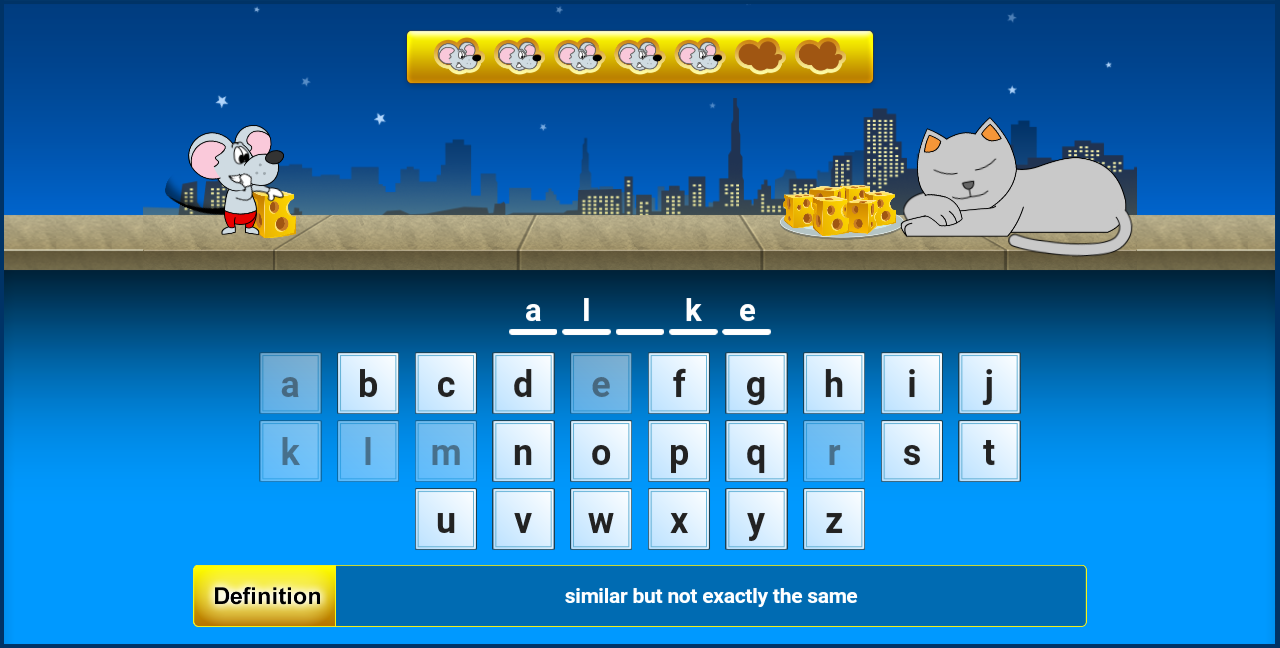VocabularySpellingCity- screenshot