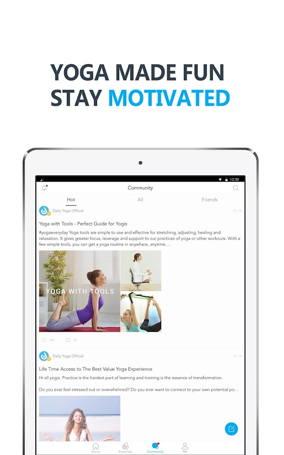 Daily Yoga - Yoga Fitness App- screenshot