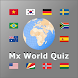 World country and flag quiz Mx - Androidアプリ