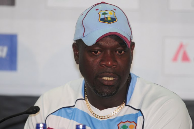 A file photo of former West Indies cricket coach Ottis Gibson speaking during a press conference at the Sher-e-Bangla National Cricket Stadium in Dhaka on November 7, 2012. Gibson is widely tipped to be the next head coach of the South African senior men's team.