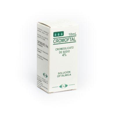 Cromoglicato Cromoftal 4% Gotas Oftálmicas x10mL