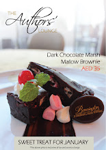 Photo: Love dark chocolate? This dark chocolate mallow brownie is a must try at the Authors' Lounge! Available at a special price throughout January!