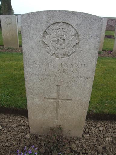 James Paton grave