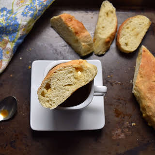 Easy White Chocolate Yeast Bread.