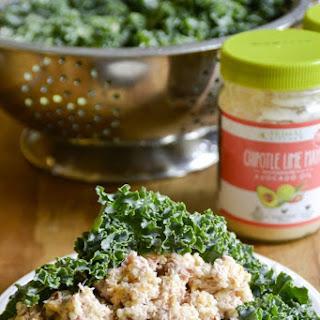 Chipotle Lime Tuna Quinoa Wraps.