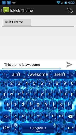 键盘主题 BlueShade|玩個人化App免費|玩APPs