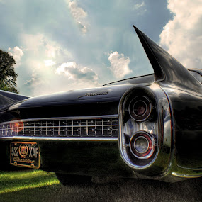 by Jade Newman - Transportation Automobiles ( car, classic car, hdr, cadillac )