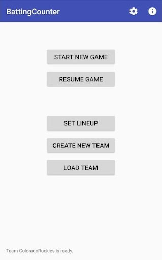 Screenshot for Batting Counter / Stats Tracker Pro in United States Play Store