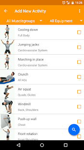 Virtuagym Fitness - Home & Gym- screenshot thumbnail