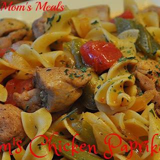 Mom's Chicken Paprikash