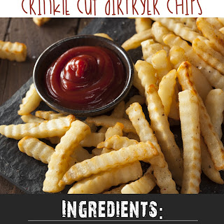 Slimming World Crinkle Cut Airfryer Chips Recipe