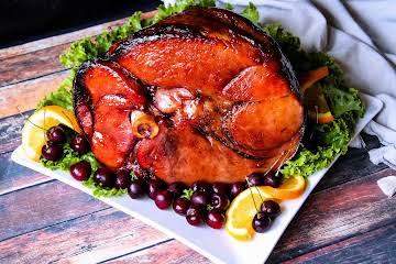 Cherry Bourbon Ham Glaze