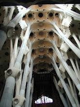 """Photo: Die immer sich immer im Bau befindliche Kathedrale """"Sagrada Familia"""""""