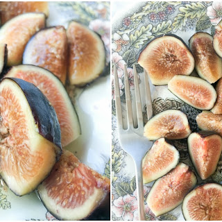 Fresh Figs with Agave Syrup Recipe