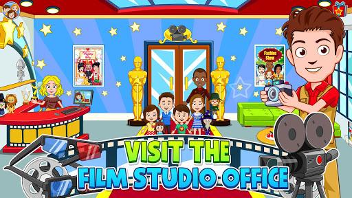 My Town : Cinema. Fun Movistar Kids Movie Night  screenshots 3
