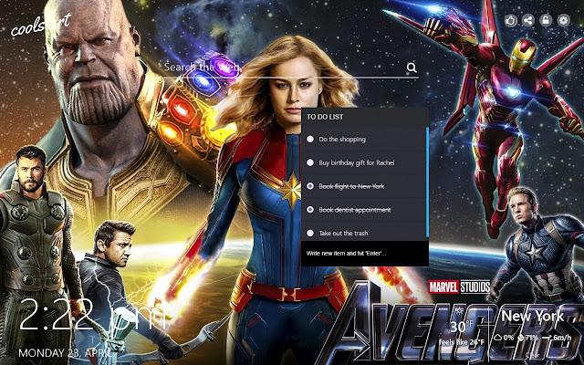Avengers Endgame Hd Wallpapers Marvel Theme
