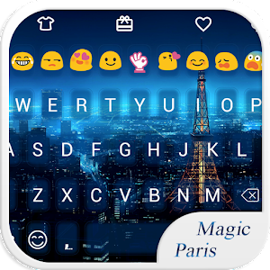 Magic Paris Emoji Keyboard download