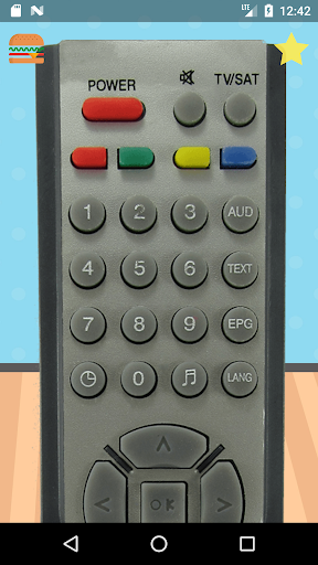Remote Control For StarSat ss2